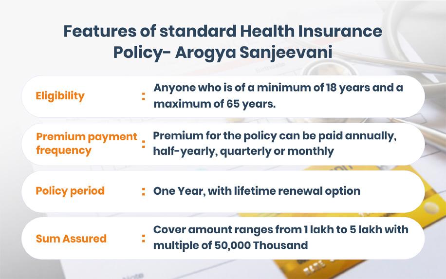 All about Arogya Sanjeevani health insurance plan